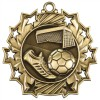 "2 1/4"" Ten Star Soccer Medal"