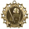 "2 1/4"" Ten Star Baseball/Softball Medal"
