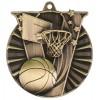 "2 1/4"" Victory Basketball Medal"