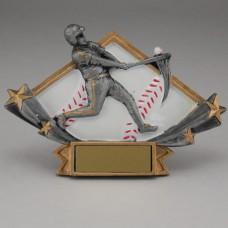 Diamond Star Baseball Resin - Small