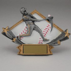 Diamond Star Baseball Resin - Large